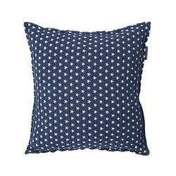 Lexington Icons Authentic Star Cushion, Navy