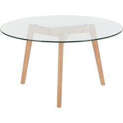 Salontafel, bijzettafel, woonkamertafel, glazen tafel, tafel, MINNESOTA
