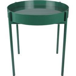 Home Delight salontafel kadro glas metaal groen 45Ø