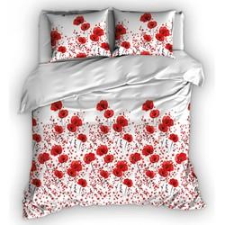 Romanette Dekbedovertrek Poppies Rood-270x200/220