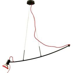 Linea Verdace Hanglamp Parrot - B103 Cm - Zwart