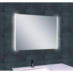 Saqu Spiegel met LED verlichting Duo 80x60 cm