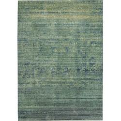 Teppich Lulu Vintage - Kunstfaser - Fuchsia - Grün / Blau - 152 x 243 cm, Safavieh