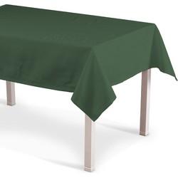 Rechthoekig tafelkleed bosgroen