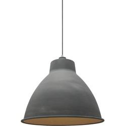 Hanglamp Dome Burned Concrete - Label51 - 42 x 42 x 36 cm