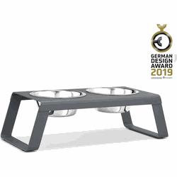 MiaCara Desco Hondenvoerbak  as grijs 58 x 26 x 17 cm