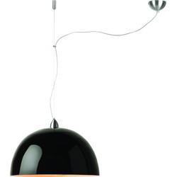 Hanglamp bamboe Halong enkel, zwart