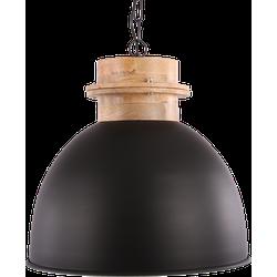 Hanglamp Legno Diameter 40 cm Mat Zwart