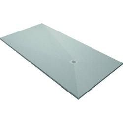 Acquabella Base Douchevloer Slate 100x100x3 cm Cemento