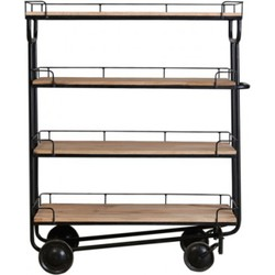 New Routz Trolley Industry Large Zwart