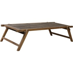 Salontafel MILITARY - hout bruin