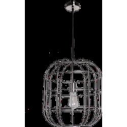 Hanglamp Olaf 40 cm nickel satin