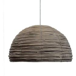 LABEL51 - Lampenkap Gevlochten 36 cm - Landelijk - Naturel