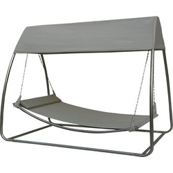 Hangmat / Ligbed (met klamboe) | SORARA |Grijs / Zwart