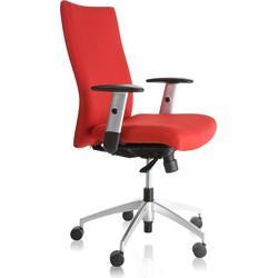 24Designs Bureaustoel Turijn - Rood