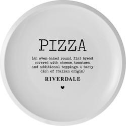 Pizzabord love wit 32cm