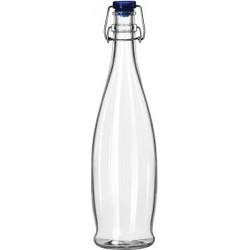 Beugelfles 1 liter blauw