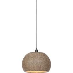 Hanglamp Bohol houtsnippers, naturel