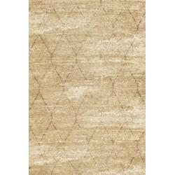Gínore Geo Lozenge Fossil Sand - 140 x 70 cm