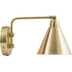 House Doctor Wandlamp Game Goud / wit