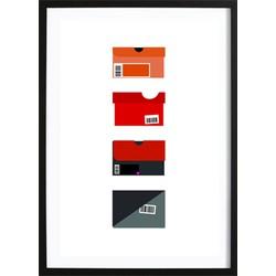 Nike Shoeboxes Poster (29,7x42cm)