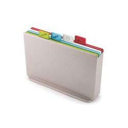 Joseph Joseph Index Regular Chopping Board Set, Silver