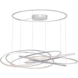 Linea Verdace Hanglamp Uranus - Ø90 Cm - Zilver
