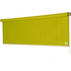 Rolgordijn - Nesling - Coolfit - Lime Groen - 2,96 x 2,4 m