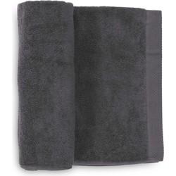 Handdoek Premium 50x100 cm anthracite - Set van 3
