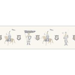 ESTAhome behangrand ridders beige