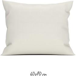 Kussensloop 60x70 cm off-white - 100% Katoen-perkal