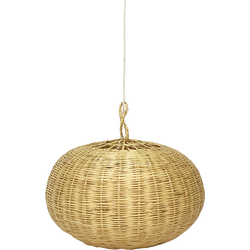 Lamp rotan rond – Large