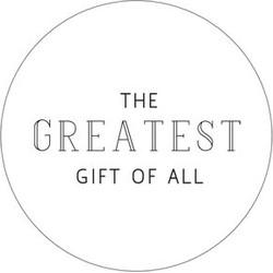 Villa Madelief Greatest gift sticker wit
