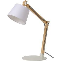Lucide Olly Bureaulamp - Wit