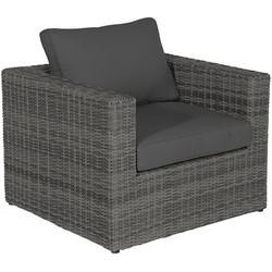 Garden Impressions Formiga lounge stoel donker grijs