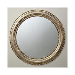 John Lewis Bead Round Mirror, Champagne, Dia.76cm