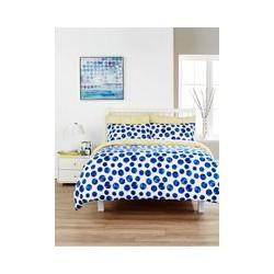 Kingsley Home Marbles Duvet Cover Set