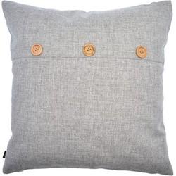 Decoratief kussen - grijs - 45 x 45cm
