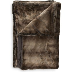 Plaid Hawke 140x220 cm brown - 100% Acryl 100% Polyester