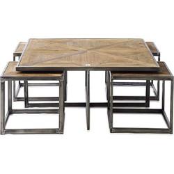 Riviera Maison Le Bar Americain Coffee Table Set/5