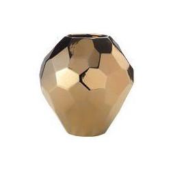 Living by Christiane Lemieux Copper facet vase, small