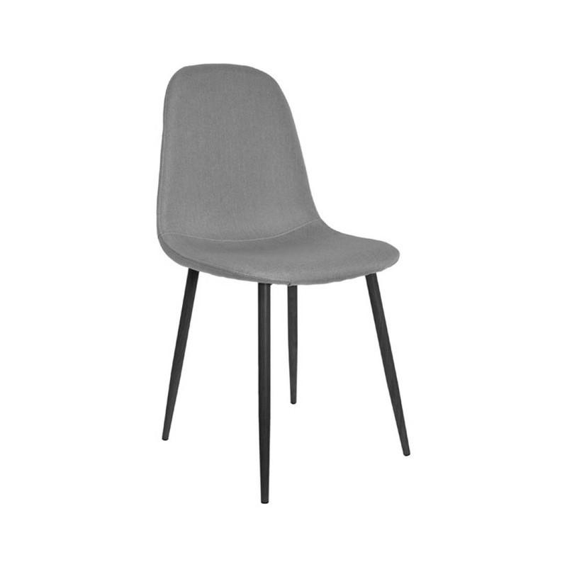 Stockholm stoel - stof grijs - set van 4 -