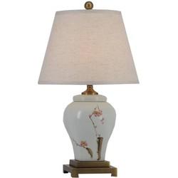 Fine Asianliving Fine Asianliving Oosterse Tafellamp Porselein Sakura Bloesems