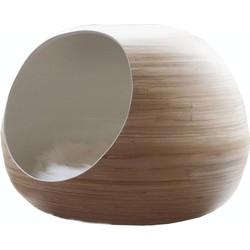 Dandy-Cat Ball Kattenhuis wit 35 x 45 cm