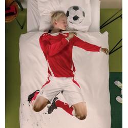 Snurk Beddengoed Junior Soccer Champ Rood