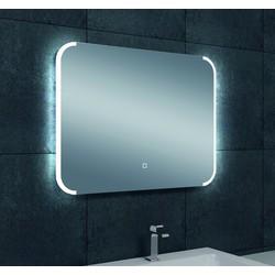 Saqu Spiegel met LED 80x60 cm