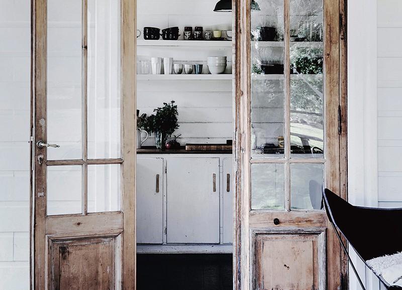 6x interieurs met prachtige vintage deuren