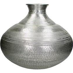 Vestbjerg Vaas 53 cm - Zilver