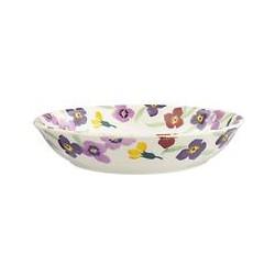 Emma Bridgewater Wallflower Pasta Bowl, Multi, Dia.23cm