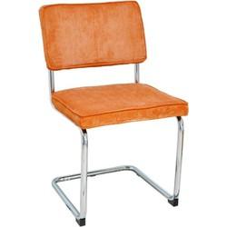 Set van 4 stoelen - Rob - roest oranje